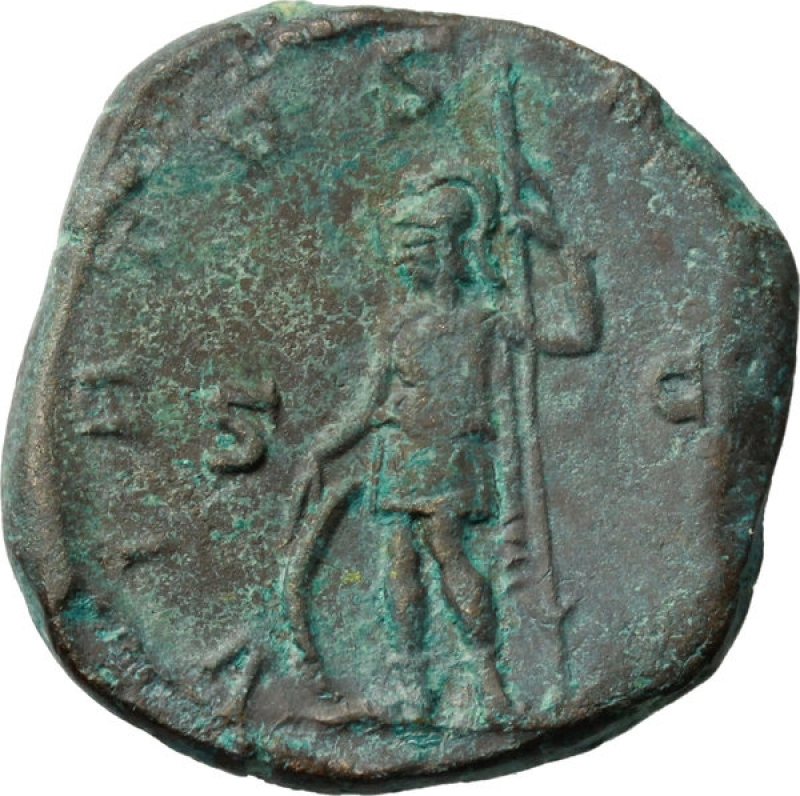 reverse: Impero Romano. Treboniano Gallo. 251-253 d.C.