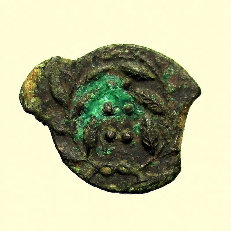 reverse: Mondo Greco. Sicilia. Himera. 420-408 a.C. Emilitra.