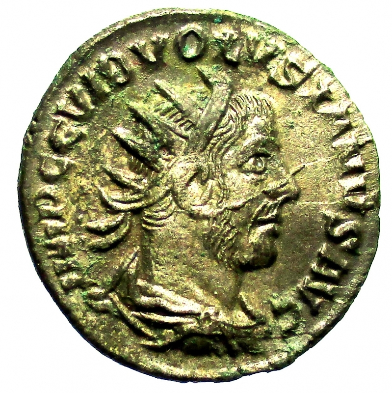 obverse: Impero Romano. Volusiano. 251-253 d.C. Antoniniano