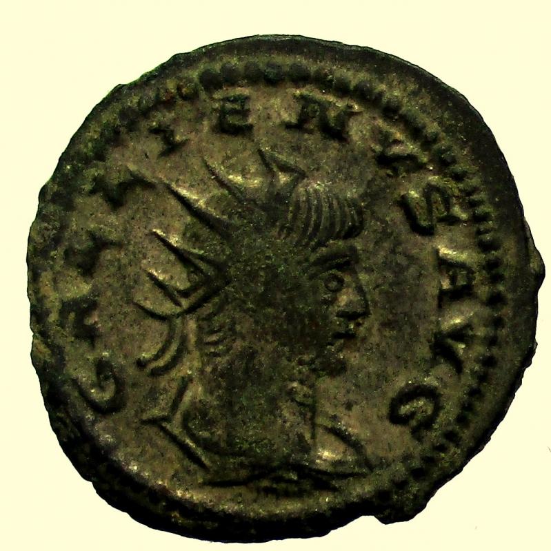 obverse: Impero Romano. Gallieno. 253-268 d.C. Antoniniano.