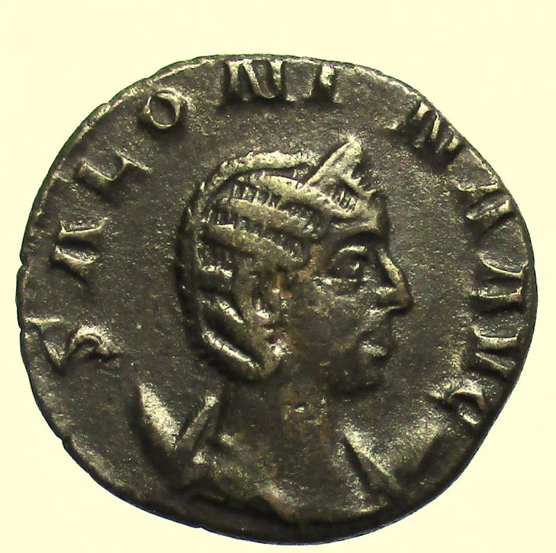 obverse: Impero Romano. Cornelia Salonina. (moglie di Gallieno). 253-268 d.C.