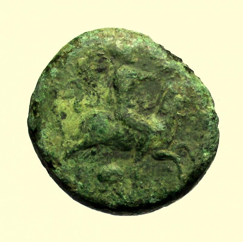 obverse: Mondo Greco, Sicilia. Himera. Emilitra Ae. Dopo il 420 a.C.