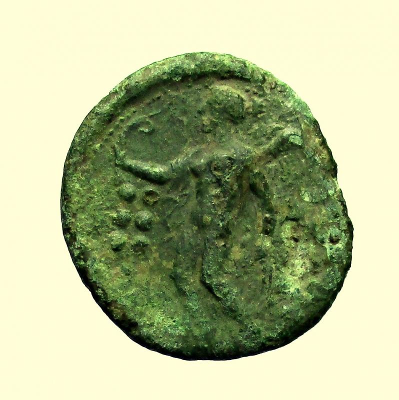 reverse: Mondo Greco, Sicilia. Himera. Emilitra Ae. Dopo il 420 a.C.
