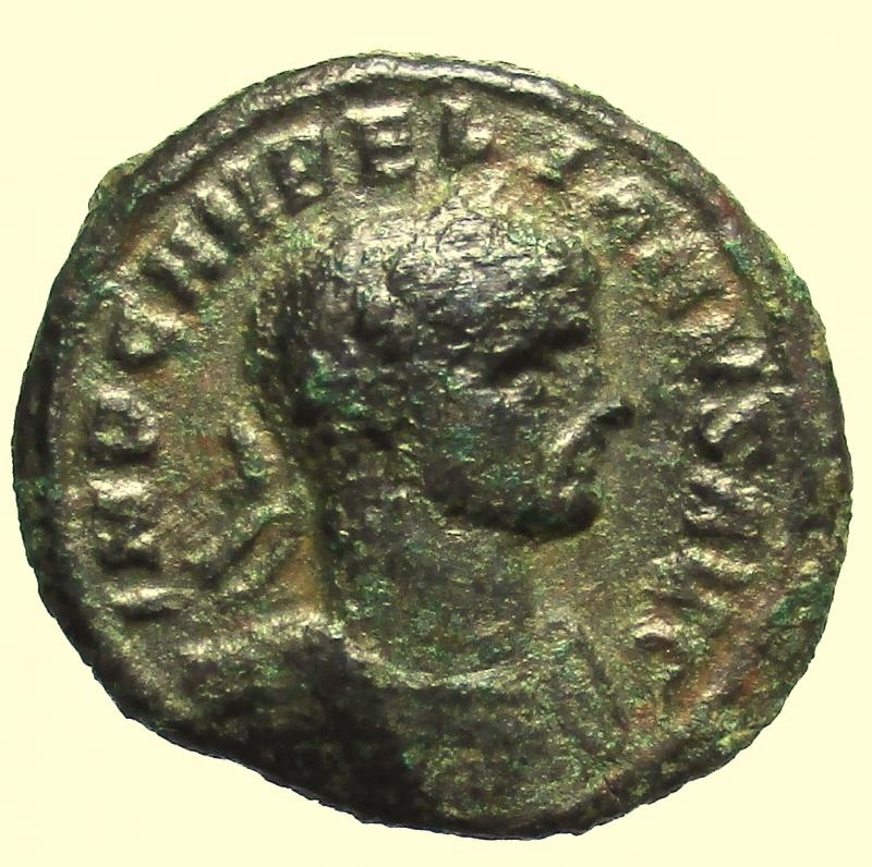 obverse: Impero Romano. Aureliano. 270-275 d.C. Denario. Ae.