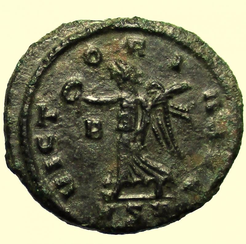 reverse: Impero Romano. Aureliano. 270-275 d.C. Denario. Ae.