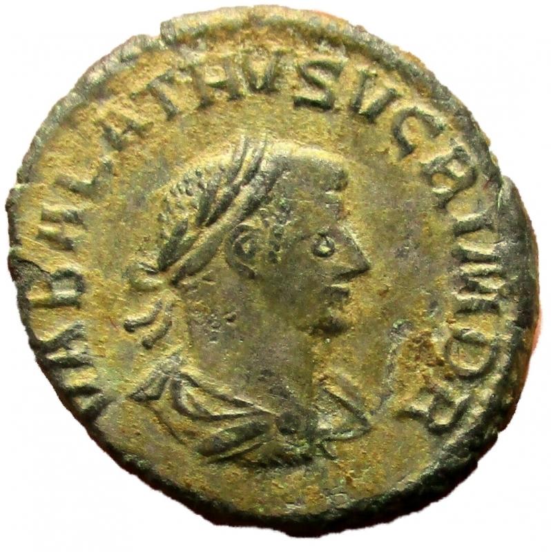 obverse: Impero Romano. Aureliano e Vaballato. 270-275 d.C. Antoniniano
