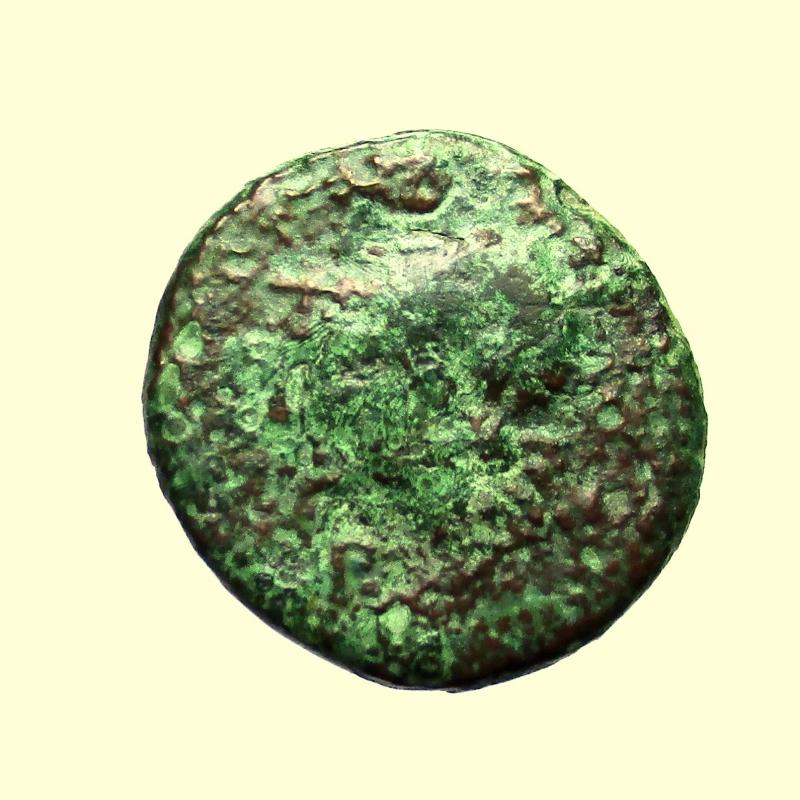 obverse: Mondo Greco. Sicilia Morgantina, Hispani. II sec. a.C.