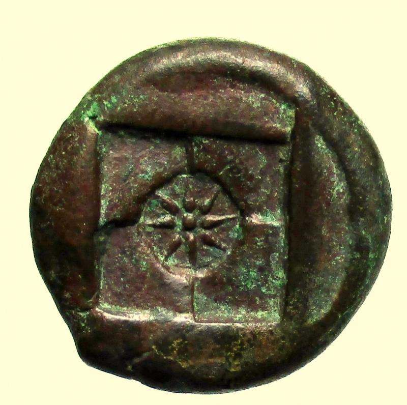 reverse: Mondo Greco Sicilia. Siracusa. ca 410 a.C. Ae.
