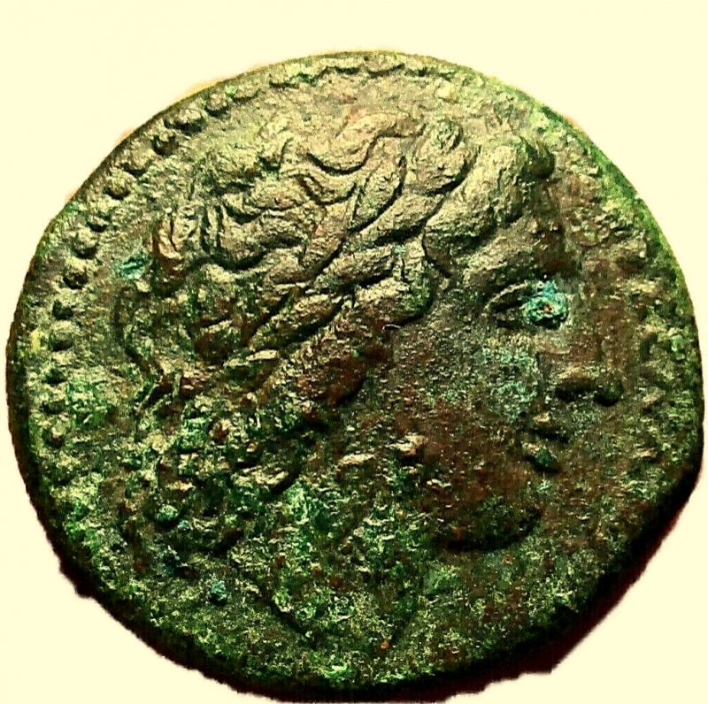 obverse: Mondo Greco. Sicilia. Siracusa. Hiketas. 287-278 a.C.