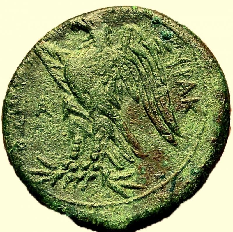 reverse: Mondo Greco. Sicilia. Siracusa. Hiketas. 287-278 a.C.