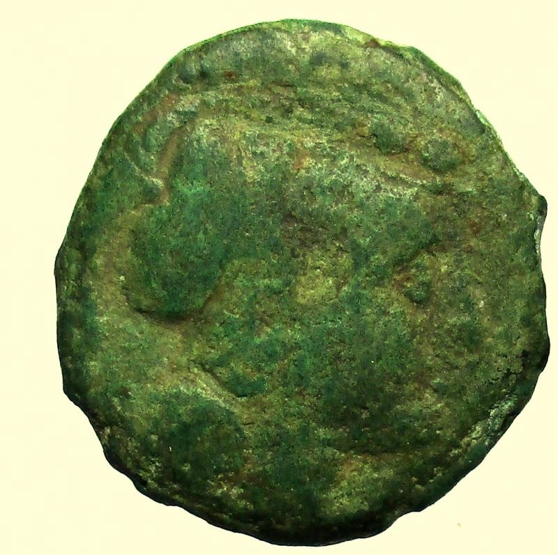 obverse: Repubblica Romana  post-semilibrali (215-211 a.C.) Triente