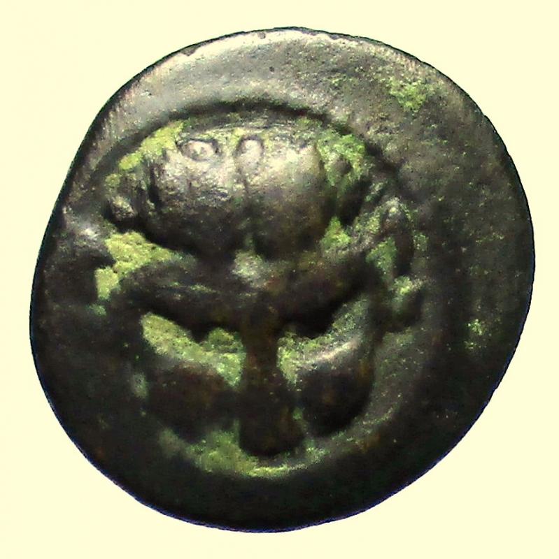 obverse: Mondo Greco. Rhegion, Bruttium  Circa 450-425 a.C.