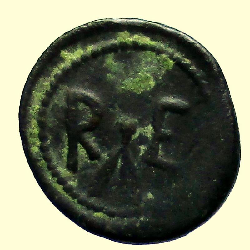 reverse: Mondo Greco. Rhegion, Bruttium  Circa 450-425 a.C.