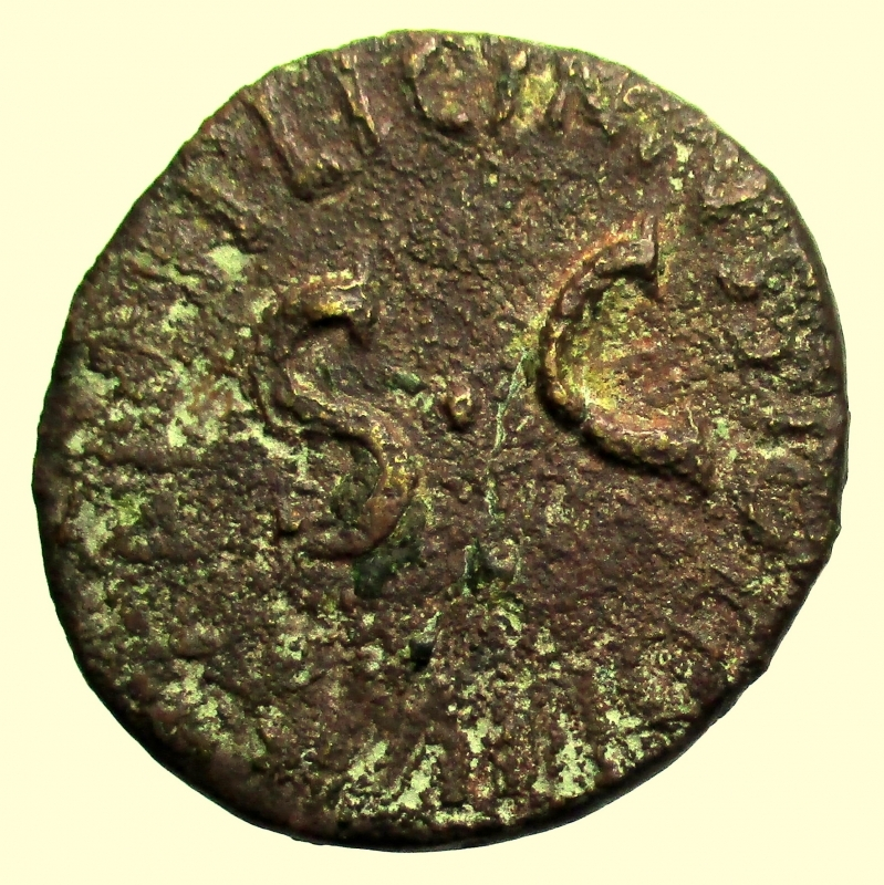reverse: Impero Romano. Augusto. 27 a.C-14 d.C. Dupondio. Ae.
