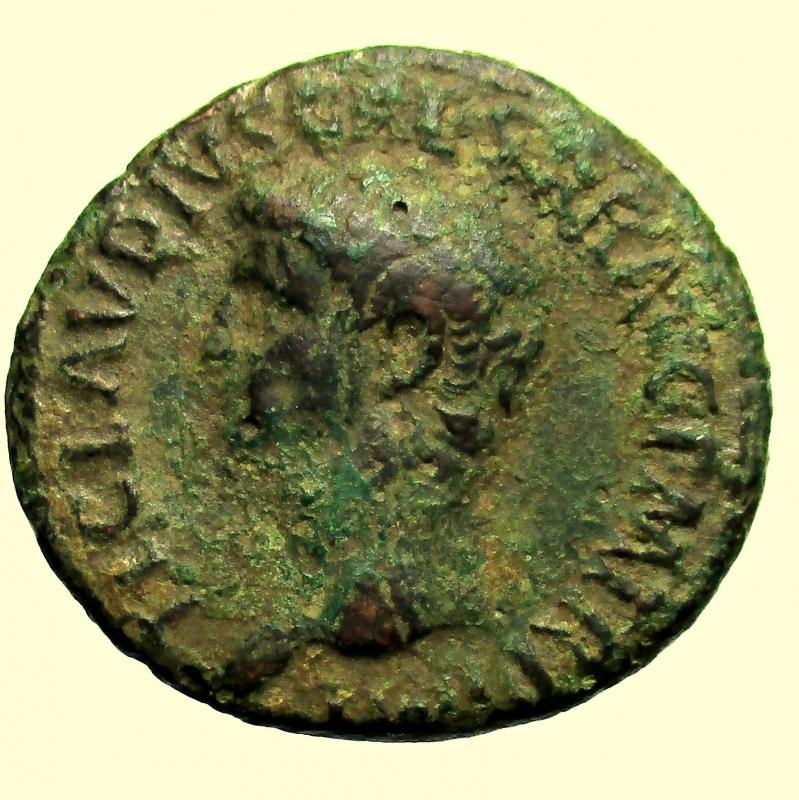 obverse: Impero Romano Claudio 41-54 d.C. Asse.