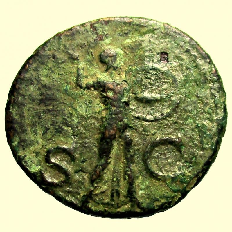 reverse: Impero Romano Claudio 41-54 d.C. Asse.