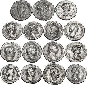 obverse: The Roman Empire.. Multiple lot of fifteen (15) unclassified Denarii