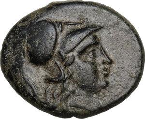 obverse: Mysia, Pergamon. AE 18 mm, 310-282 BC