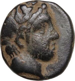 obverse: Mysia, Perperene. AE 8 mm. Circa 4th century BC