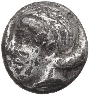 obverse: Troas, Assos. AR Obol, 4th-3rd centuries BC