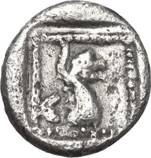 reverse: Troas, Assos. AR Obol, 4th-3rd centuries BC