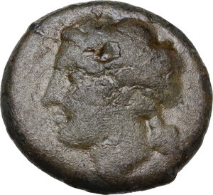 obverse: Central and Southern Campania, Neapolis. AE 16.5 mm, 300-275 BC