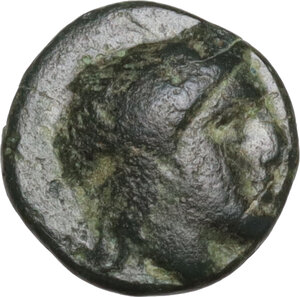 obverse: Aeolis, Autokane. AE 9 mm. Circa 400-300 BC