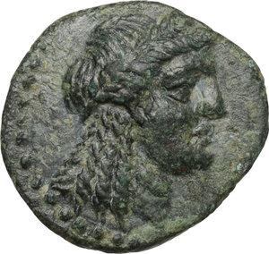 obverse: Aeolis, Elaia. AE 16 mm, 2nd-1st century BC
