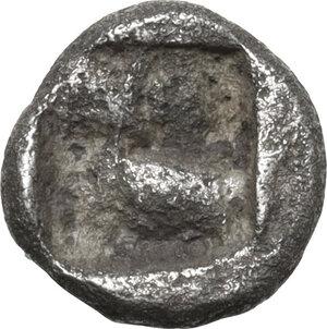 reverse: Ionia, Ephesos. AR 1/24 Stater, 550-500 BC