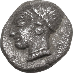 obverse: Ionia, Phokaia. AR Diobol, c. 510-494 BC