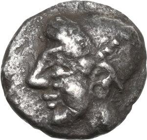 obverse: Ionia, Phokaia. AR Obol, 5th century BC