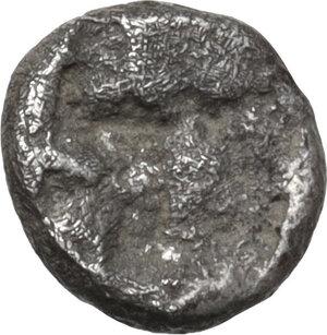 reverse: Ionia, Teos. AR Tetartemorion, 540-478 BC