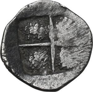 reverse: Ionia, Teos. AR Tetartemorion, 520-478 BC