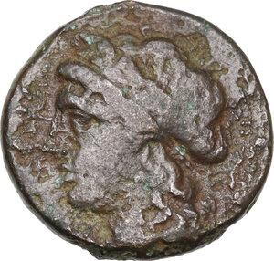obverse: Northern Apulia, Arpi. AE19. c. 325-275 BC