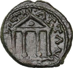 reverse: Lydia, Silandos. AE 18 mm. 161-169