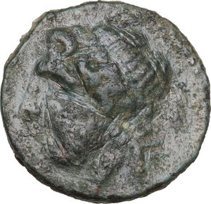 obverse: Northern Apulia, Arpi. AE15, circa 325-275 BC