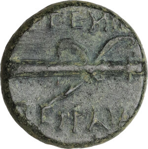 reverse: Pamphylia, Perge. AE 15 mm, 50-30 BC