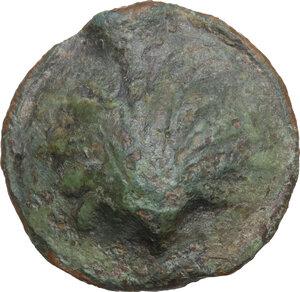 obverse: Northern Apulia, Luceria. AE Biunx, c. 220 BC