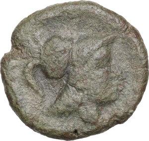 obverse: Northern Apulia, Teate. AE Uncia. 225-200 BC