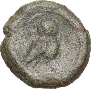 reverse: Northern Apulia, Teate. AE Uncia. 225-200 BC