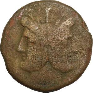 obverse: Anchor series.. AE As, 169-158 BC