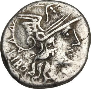 obverse: Q. Marcius Libo.. AR Denarius, 148 BC