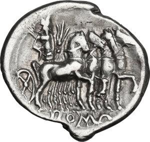 reverse: Q. Caecilius Metellus.. AR Denarius, 130 BC