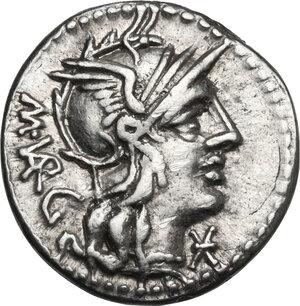 obverse: M. Vargunteius.. AR Denarius, 130 BC