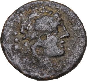 obverse: M. Vargunteius.. AE Quadrans, 130 BC
