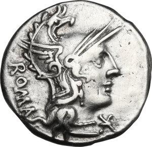obverse: C. Caecilius Metellus Caprarius.. AR Denarius, 125 BC