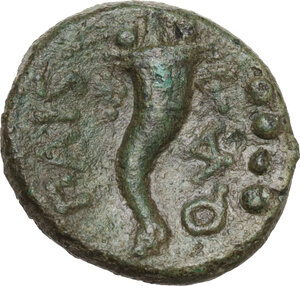 reverse: Lucania, Poseidonia-Paestum. AE Triens, 264-241 BC