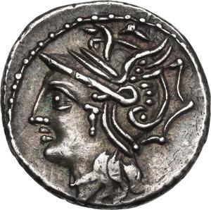 obverse: L. Appuleius Saturninus. AR Denarius, 104 BC