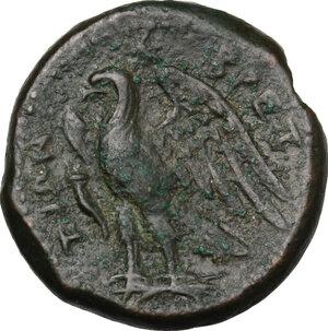 reverse: Bruttium, The Brettii. AE Unit, 214-211 BC