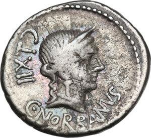 obverse: C. Norbanus.. AR Denarius, 83 BC